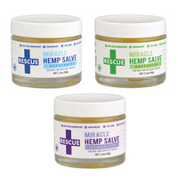 Rescue Miracle CBD Hemp Salve - 2.3oz / 250mg