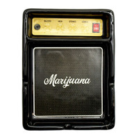 Retro Guitar Amp Ceramic Ashtray | Wholesale Distributor