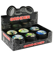 "Rich and Shorty 4pc Grinder - 2"" / Assorted / 6pc"