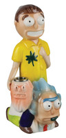 "Rich and Shorty Ceramic Waterpipe - 8"" / Rich and Shorty"