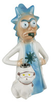 "Rich and Shorty Ceramic Waterpipe - 8"" / Rich"