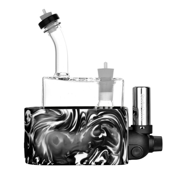 Rig In One Fully Modular Portable Dab Rig | Black | Wholesale Distributor