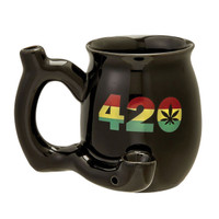 Roast & Toast Mug Pipe - 10.5oz | 420 | Black