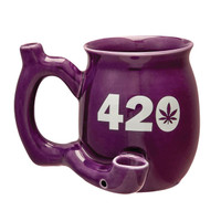 Roast & Toast Mug Pipe - 10.5oz | 420 | Purple
