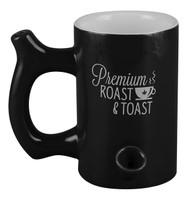Roast & Toast Mug Pipe Premium - 10.5oz / Black