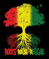 "Roots Rock Reggae Fleece Blanket - 79"" x 94"""
