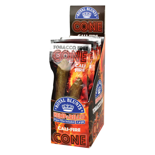 Royal Blunts Hemparillo Cones | Cali-Fire | Wholesale