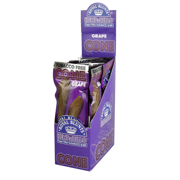 Royal Blunts Hemparillo Cones | Grape | Wholesale