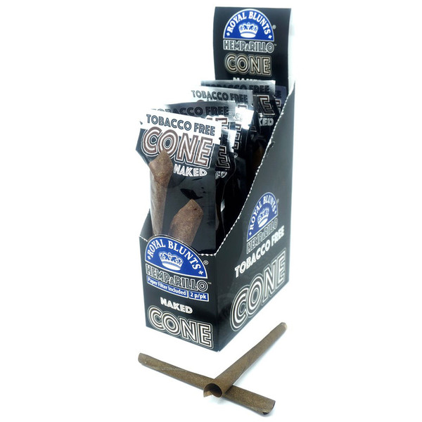 Royal Blunts Hemparillo Cones | Naked | Wholesale Distributor