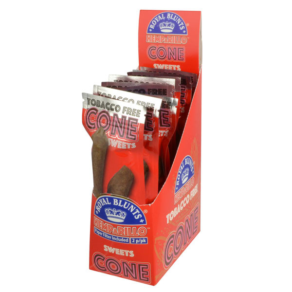 Royal Blunts Hemparillo Cones - 10pc | Sweet | Wholesale