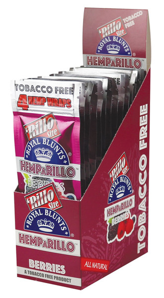 Royal Blunts Hemparillo Hemp Wraps - Berries | 15pc