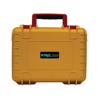 "STR8 Case w/ 2 Layer Foam - 10.5""x8.5"" / Rasta"