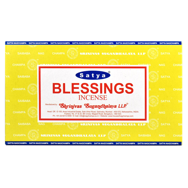 Satya Blessings Incense | 15 Gram | Best Wholesale Distributor