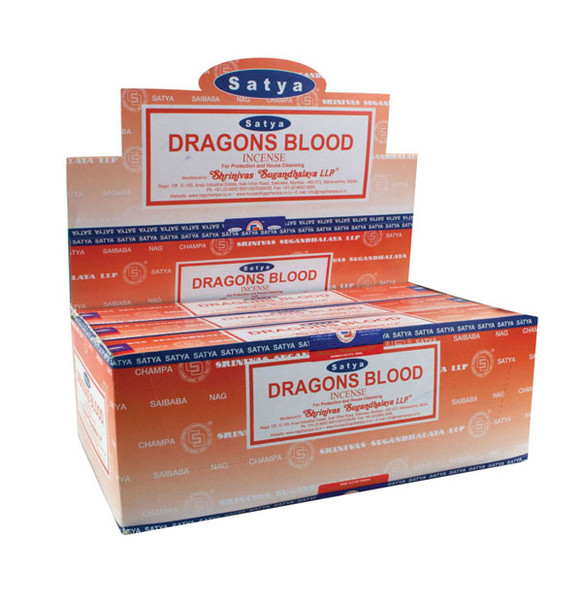 Satya Dragons Blood Incense | 15 Gram | Best Wholesale Distributor