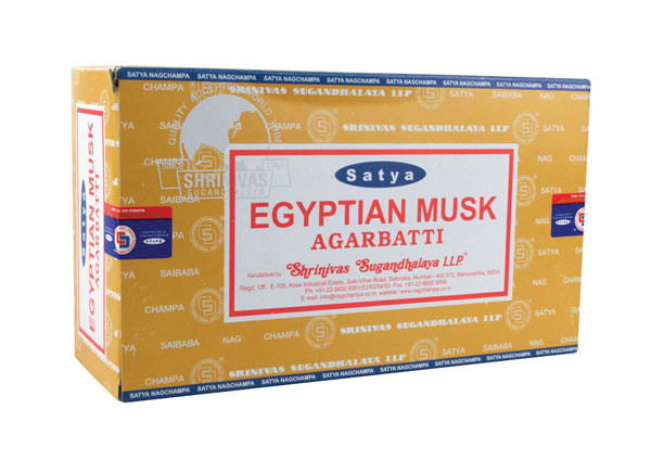 Satya Egyptian Musk Incense | 15 Gram | Best Wholesale Distributor