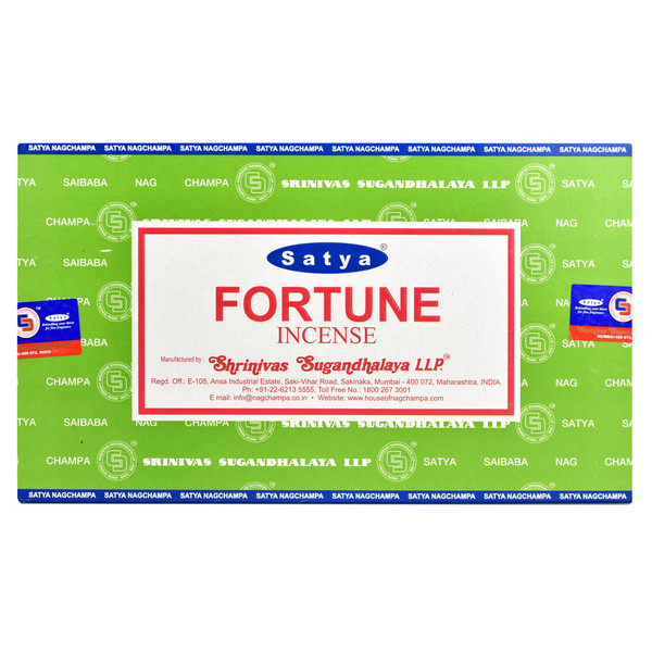Satya Fortune Incense | 15 Gram | Best Wholesale Distributor