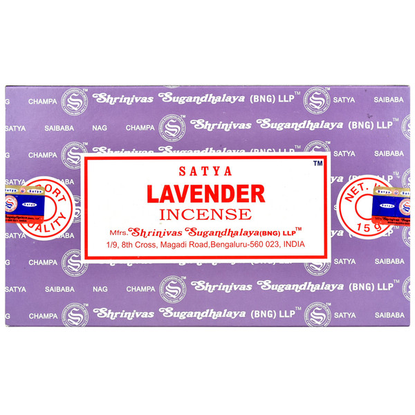 Satya Lavender Incense | 15 Gram | Best Wholesale Distributor