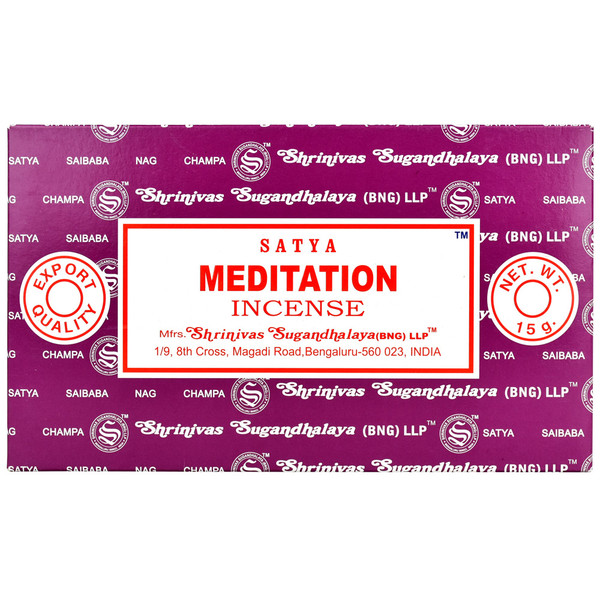 Satya Meditation Incense | 15 Gram | Best Wholesale Distributor