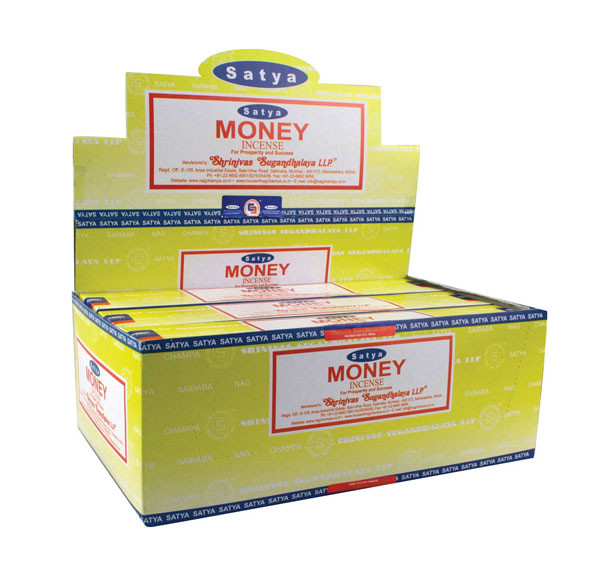 Satya Money Incense | 15 Gram | Best Wholesale Distributor