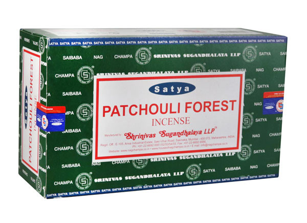 Satya Patchouli Incense | 15 Gram | Best Wholesale Distributor