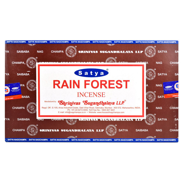 Satya Rain Forest Incense | 15 Gram | Best Wholesale Distributor