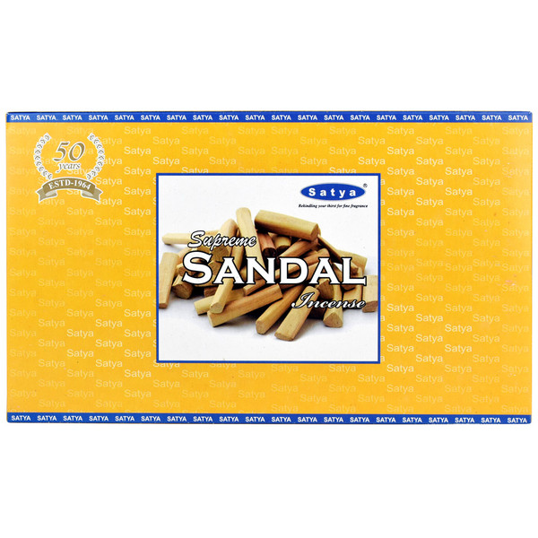 Satya Supreme Sandalwood Incense | 15 Gram | Best Wholesale Distributor