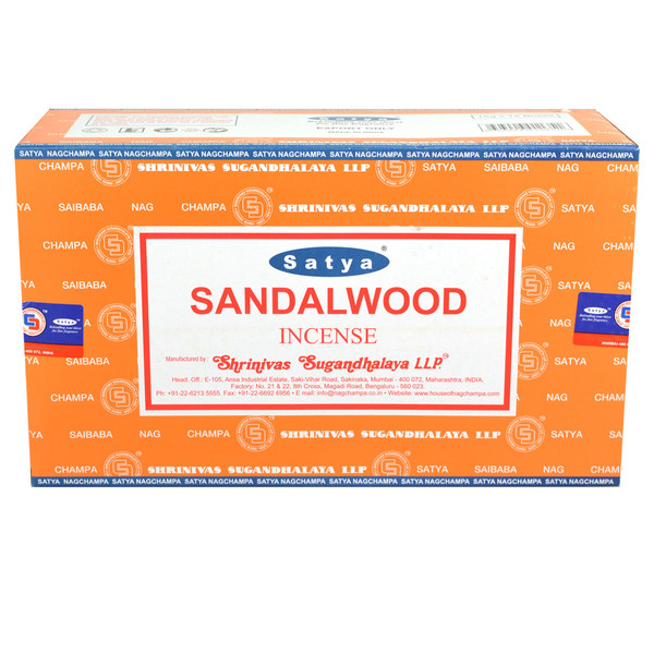 Satya Sandalwood Incense | 15 Gram | Best Wholesale Distributor