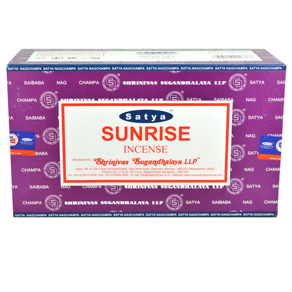 Satya Sunshine Incense | 15 Gram | Best Wholesale Distributor