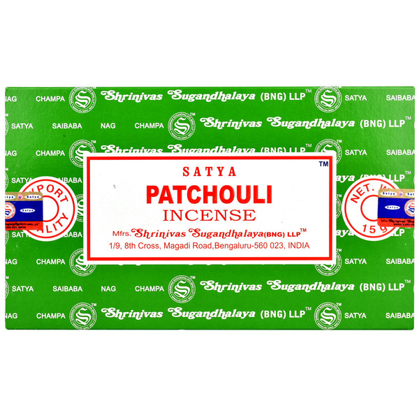 Satya Supreme Patchouli Incense | 15 Gram | Best Wholesale Distributor