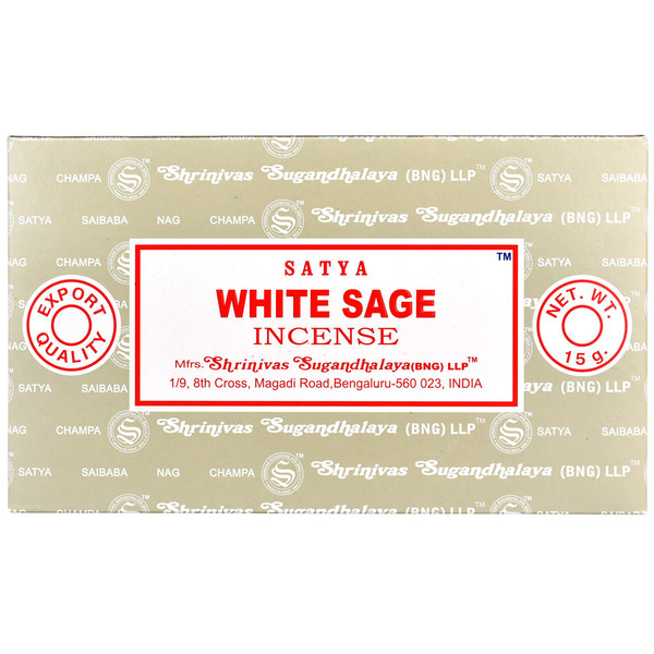 Satya White Sage Incense | 15 Gram | Best Wholesale Distributor