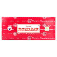 Satya Backflow Cones | Dragon's Blood| Wholesale Distributor