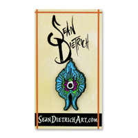 Sean Dietrich Enamel Hat Pin | Blue Orchid | Wholesale Distributor
