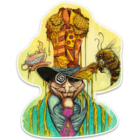 Sean Dietrich Sticker | Honey Hatter | Wholesale Distributor