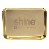 Shine Rolling Papers Gold Rolling Tray | Wholesale Distributor