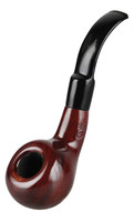 "Shire Pipes Bent Tomato - 5.3"" / Cherry"