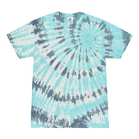 Short Sleeve Tie Dye T-Shirt | Coral Reef | Small | Wholesale