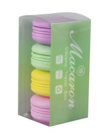 "Silicone Macaroon Container - 2"" / Assorted - 4pc"