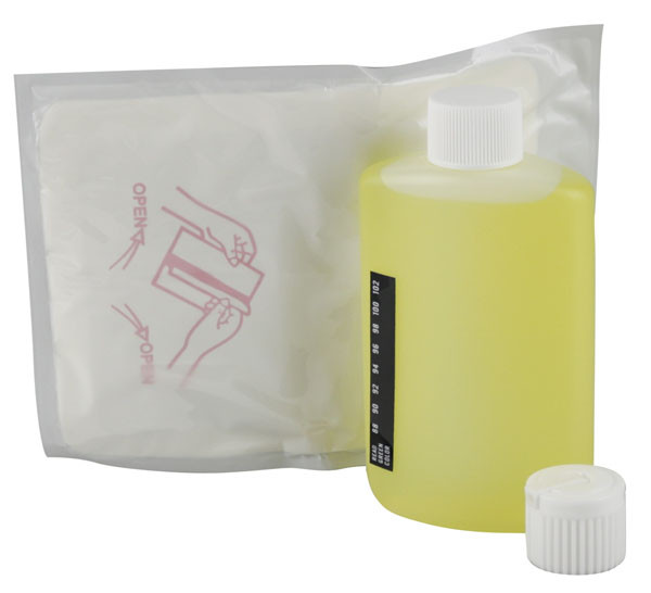 Simply Golden Fetish Urine Bottle Kit w/ Warmer - 3.5oz - AFG Dist