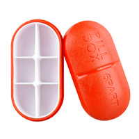 Six Chamber Pill Medicine Container | Wholesale Distributor