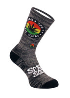 Smokey Brand Socks - Dab All Stars | Grey