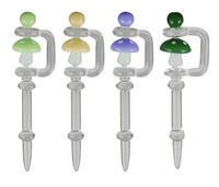 Spinner Dabber Tool - 5 / Mushroom / Asst. Colors - AFG Distribution