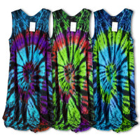 Spiral Tie Dye Dress - 41"