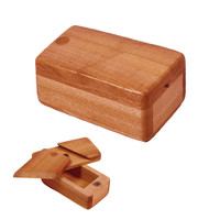 Square Wooden Trick Storage Box | Small | Wholesale