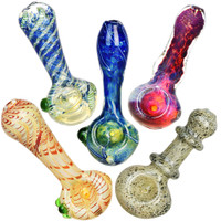 "Standard Style Spoon Pipe | 3.25""-3.5"" 