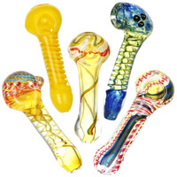 "Standard Style Spoon Pipe | 4"" - 5"" 