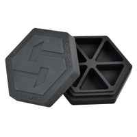 Stone Smiths Dab Box Six Compartment Silicone Container | Wholesale
