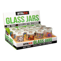 Striko Glass Jar - 3"