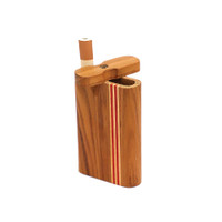 Striped Light Wood Dugout | Small | Wholesale