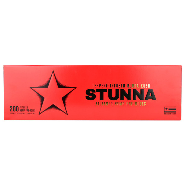 Stunna Bubba Kush Terpene-Infused Pre-Rolls | Wholesale Distributor