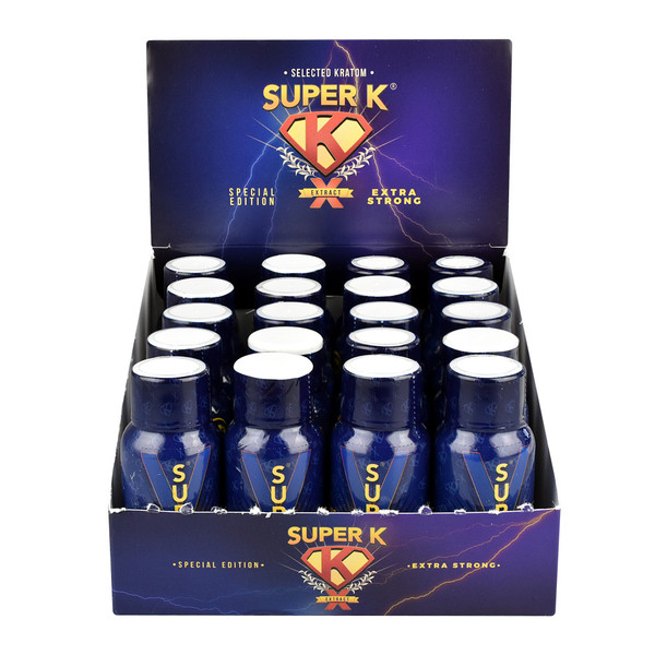 Super K Kratom Extract Shot | Special Edition | Master Distributor